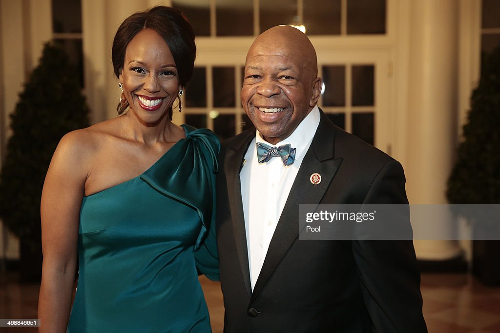 Guests Arrive For White House State Dinner In Honor Of French President : News Photo