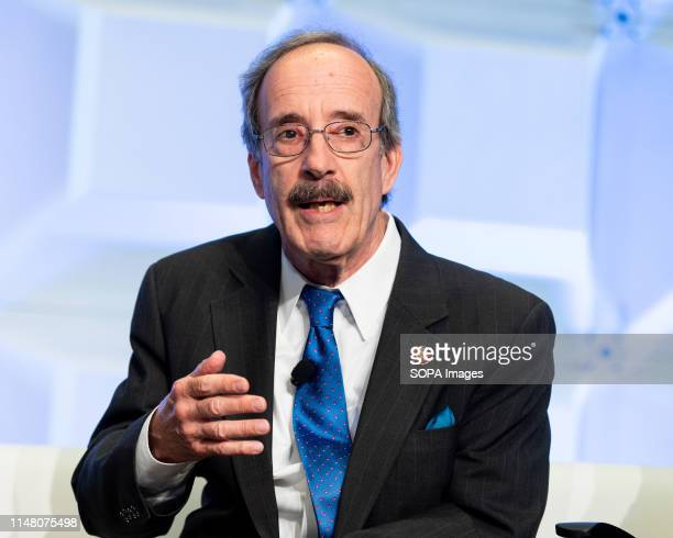 S Representative Eliot Engel speaking at the AntiDefamation League National Leadership Summit in Washington DC