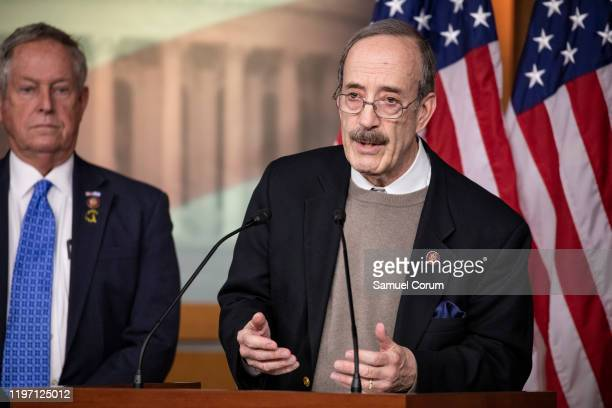 Representative Eliot Engel speaks about a trip to Israel and AuschwitzBirkenau as part of a bipartisan delegation from the House of Representatives...