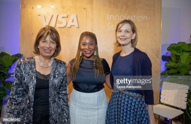 Representative Jackie Speier Adama Iwu Vice President State Government Community Relations at Visa and Emily Martin General Counsel and Vice...