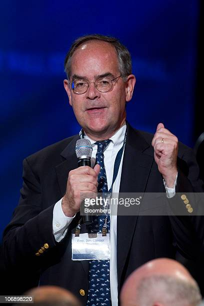 Representative Jim Cooper a Democrat from Tennessee speaks during a meeting of the Wall Street Journal CEO Council in Washington DC US on Monday Nov...