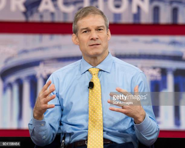 Representative Jim Jordan Representative for Ohio's 4th congressional district at the Conservative Political Action Conference sponsored by the...