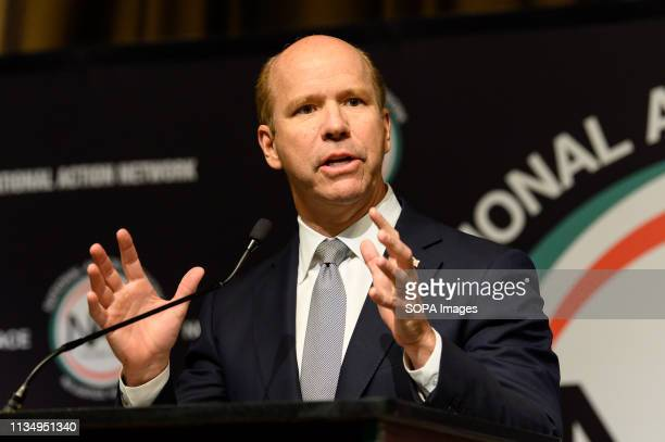 S Representative John Delaney seen speaking at the National Action Network National convention in New York City NY