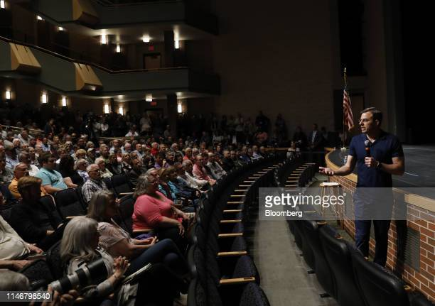 Representative Justin Amash, a Republican from Michigan, answers a question during a town hall event in Grand Rapids, Michigan, U.S., on Tuesday, May...