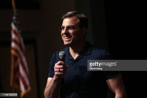 Representative Justin Amash a Republican from Michigan speaks during a town hall event in Grand Rapids Michigan US on Tuesday May 28 2019 Mueller's...