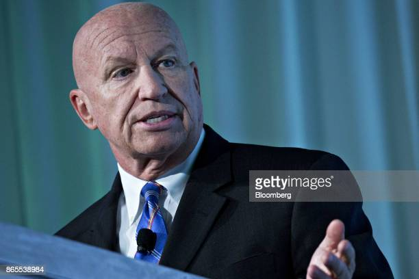 Representative Kevin Brady a Republican from Texas and chairman of the House Ways and Means Committee speaks during the Securities Industry And...