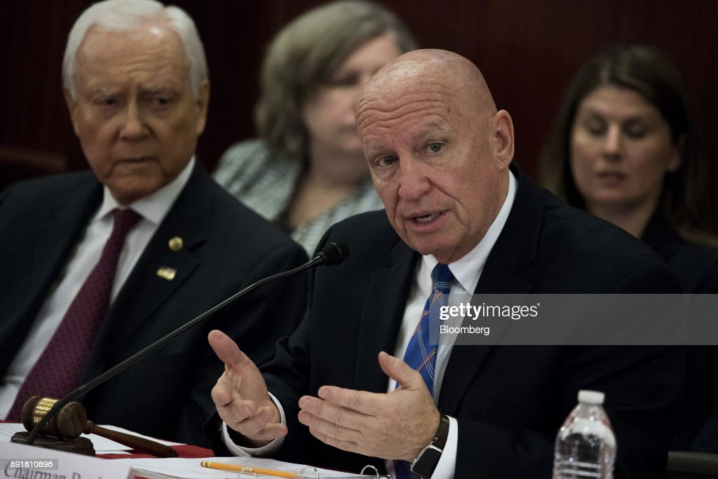 'Tax Cuts And Jobs Act' House-Senate Conference Meeting : News Photo