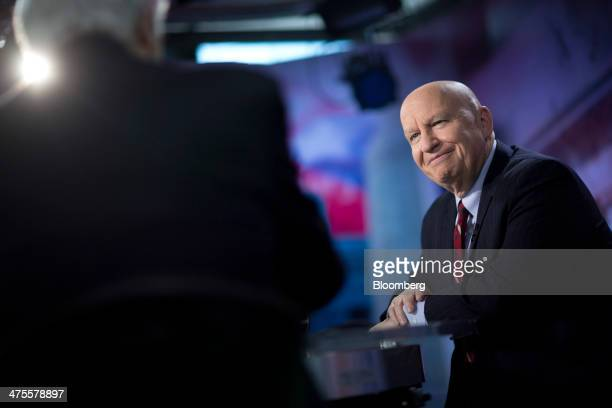 Representative Kevin Brady a Republican from Texas waits to begin a Bloomberg Television interview in Washington DC US on Friday Feb 28 2014 A...