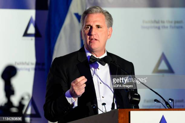S Representative Kevin McCarthy at the National Council of Young Israel Gala in New York City
