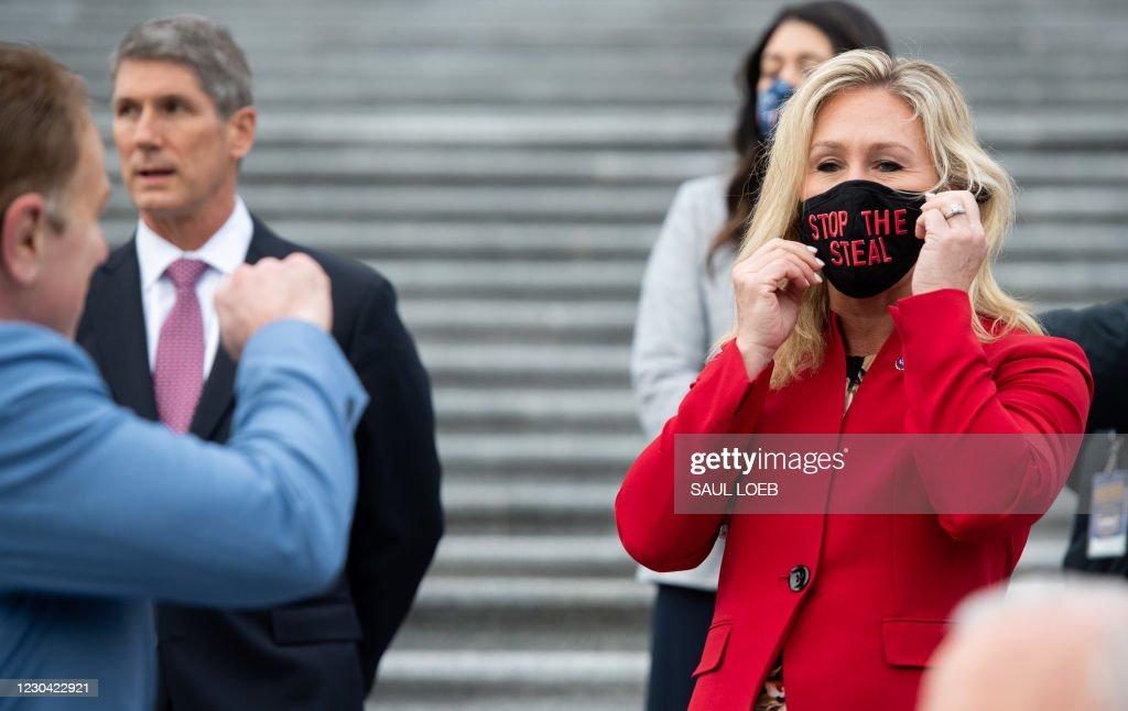 TOPSHOT-US-POLITICS-CONGRESS : News Photo
