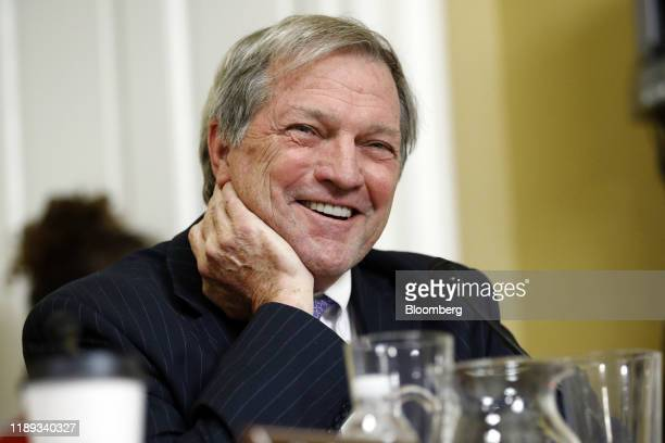 Representative Mark DeSaulnier a Democrat from California smiles during a House Rules Committee markup meeting on Capitol Hill in Washington DC US on...