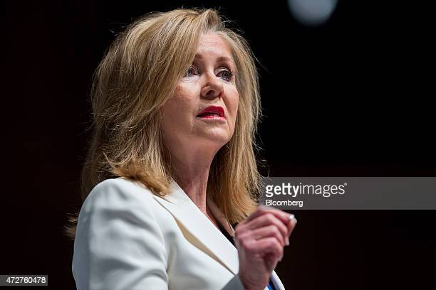 Representative Marsha Blackburn a Republican from Tennessee during the South Carolina Freedom Summit hosted by Citizens United and Congressman Jeff...