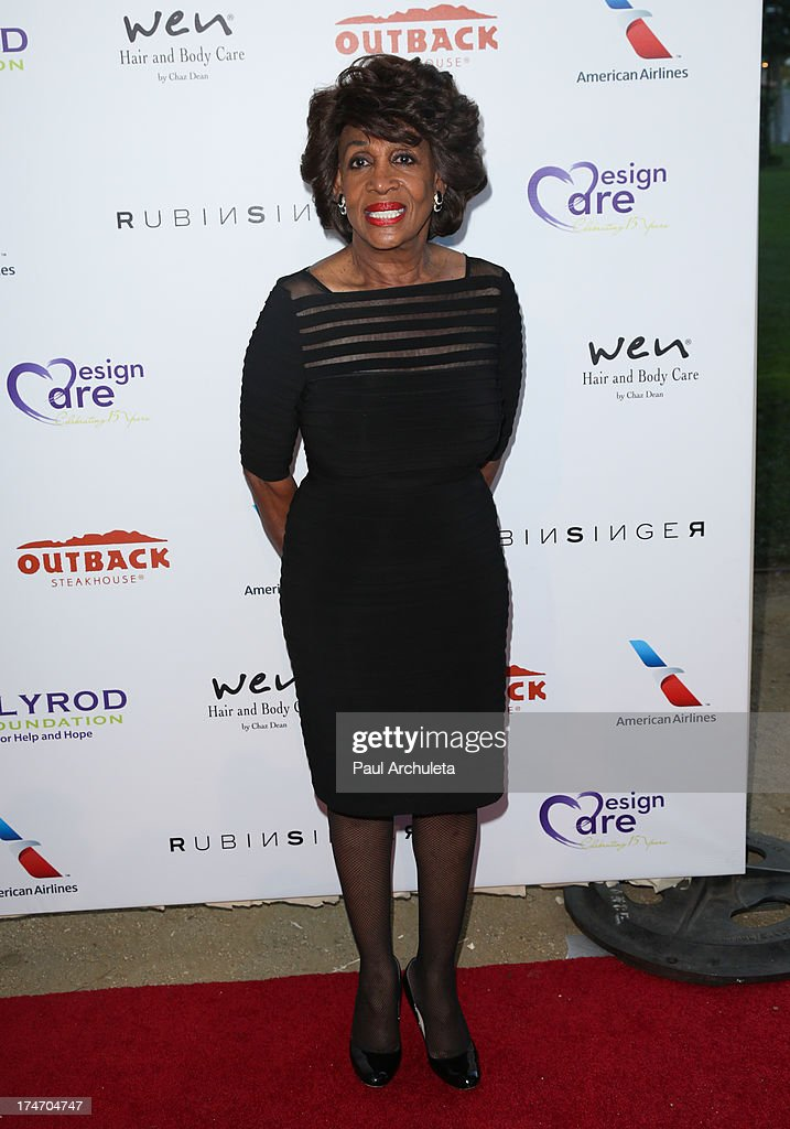 U.S. Representative Maxine Waters attends the 15th annual DesignCare charity event on July 27, 2013 in Malibu, California.