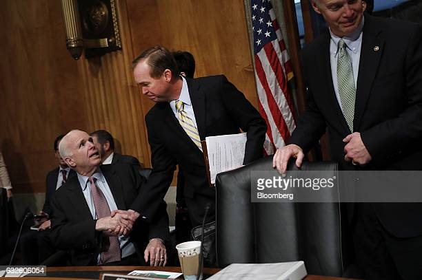 Representative Mick Mulvaney, a Republican from South Carolina and Office of Management and Budget director nominee for U.S. President Donald Trump,...