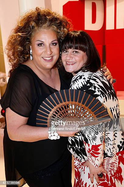Representative of France to the Eurovision song contest Vienna 2015, Lisa Angell and Commentator for France to the Eurovision song contest Vienna...