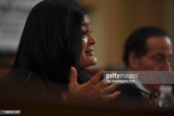Representative Pramila Jayapal on the House Judiciary Committee about Impeachment proceedings against President Donald Trump at the U.S. Capitol...