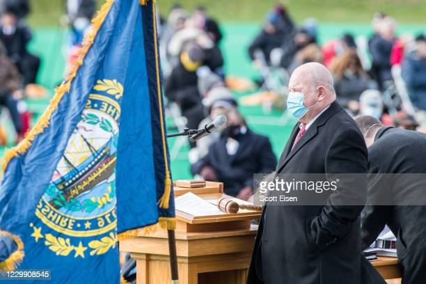 Representative Richard Hinch speaks during the opening session of the New Hampshire Legislature at the Univeristy of New Hampshire which is held...
