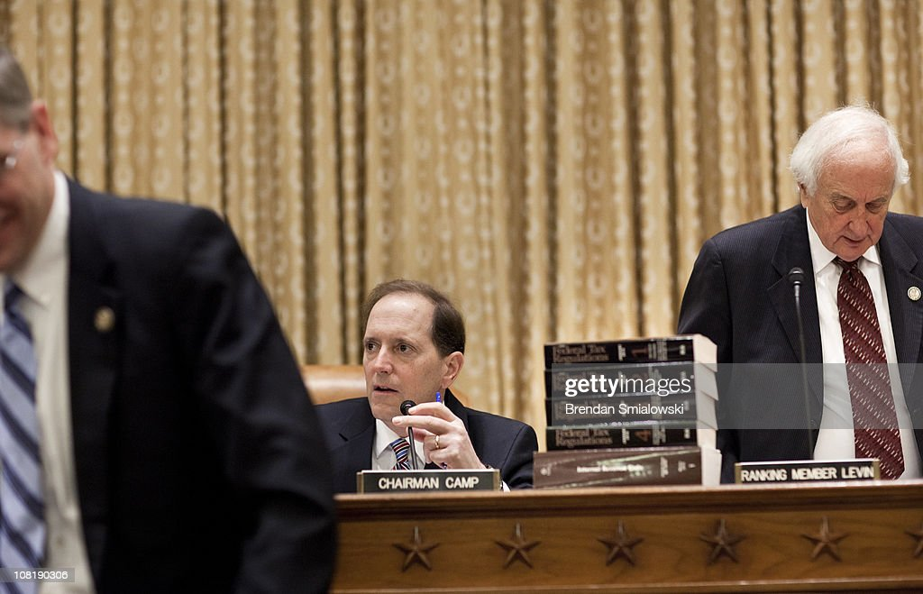 House Holds Hearing On Current Federal Income Tax Structure : News Photo