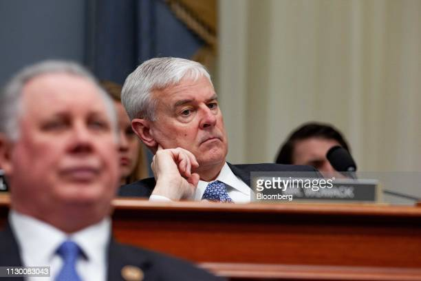 Representative Steve Womack a Republican from Arkansas listens during a House Budget Committee hearing with Russell Vought acting director of the...