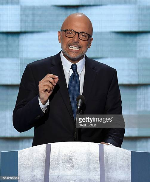 US Representative Ted Deutch of Florida speaks during the final day of the 2016 Democratic National Convention on July 28 at the Wells Fargo Center...