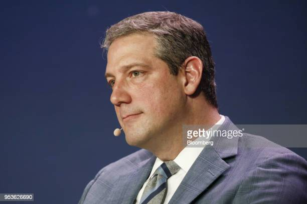 Representative Tim Ryan a Democrat from Ohio attends the Milken Institute Global Conference in Beverly Hills California US on Tuesday May 1 2018 The...