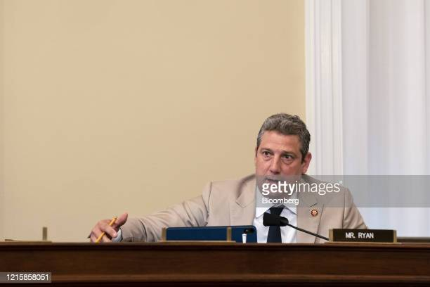 Representative Tim Ryan, a Democrat from Ohio, speaks during a House Appropriations Subcommittee hearing in Washington, D.C., U.S., on Thursday, May...