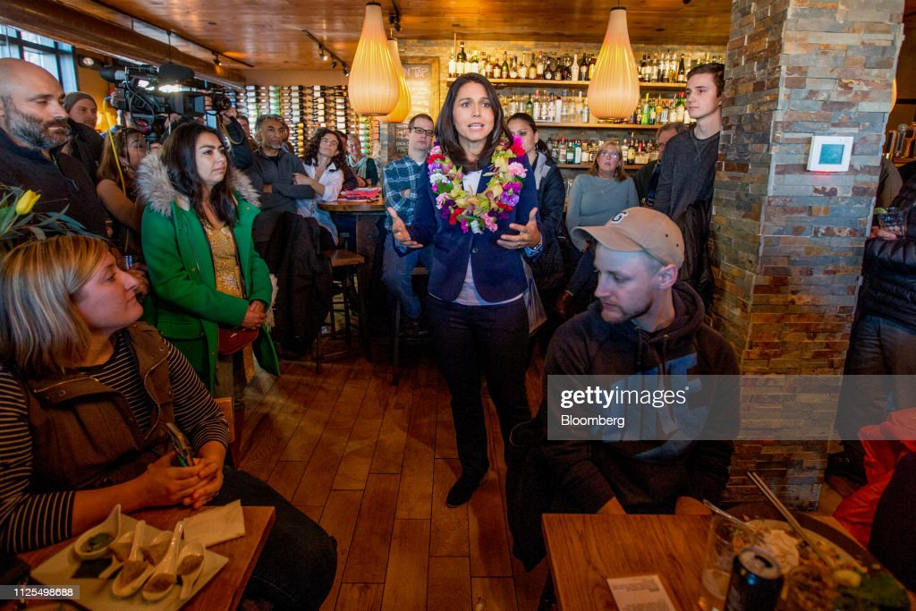 NH: Democratic Representative Tulsi Gabbard Makes New Hampshire Campaign Stops