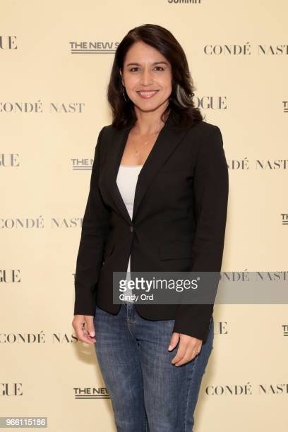 Representative Tulsi Gabbard attends Teen Vogue Summit 2018 #TurnUp Day 2 at The New School on June 2 2018 in New York City