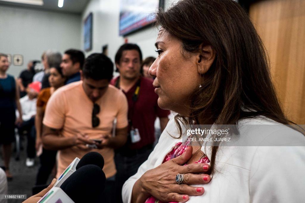 US-SHOOTING-EL PASO : News Photo