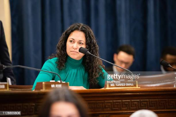 Representative Xochitl Torres Small of Nuevo Mexico questioning Homeland Security Secretary Kirstjen Nielsen about the Trump administration's...