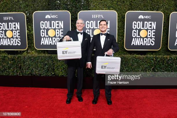 EY representatives attends the 76th Annual Golden Globe Awards at The Beverly Hilton Hotel on January 6 2019 in Beverly Hills California