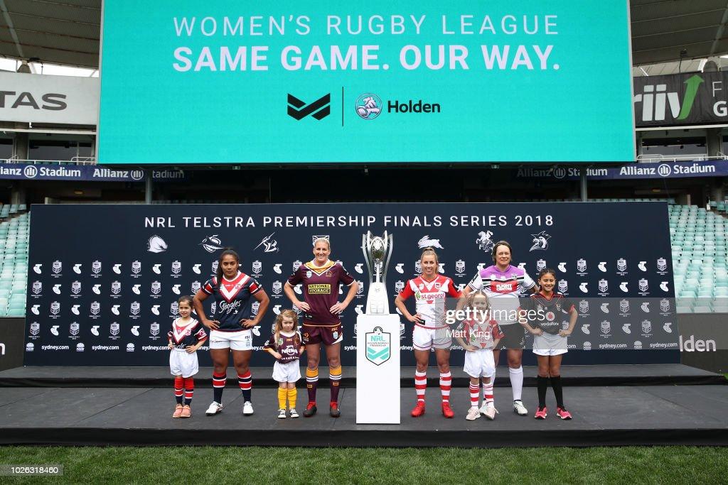 2018 NRL Finals Launch : News Photo