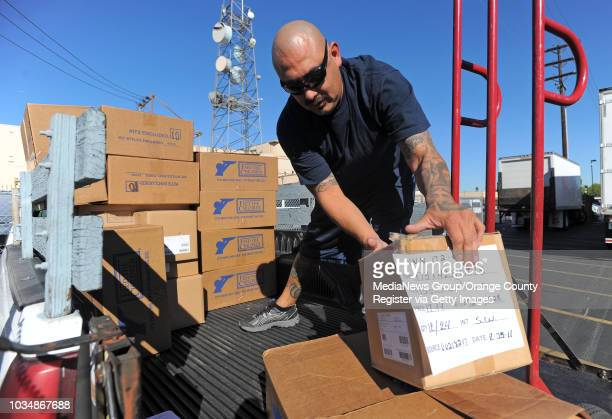 DOWNEY Representatives from area school districts in the county spent Tuesday afternoon picking up 2000 care packages that will be distributed to...