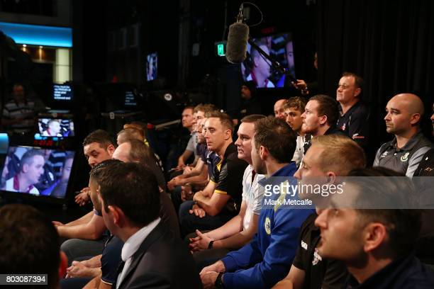 Representatives from football clubs across the country attend the FFA Cup Round of 32 Official Draw on June 29 2017 in Sydney Australia