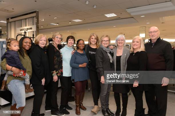 Representatives from NAMI attend as Taraji P Henson and NAMI celebrate Lord Taylor Charity Days on January 12 2019 in Schumburg Illinois