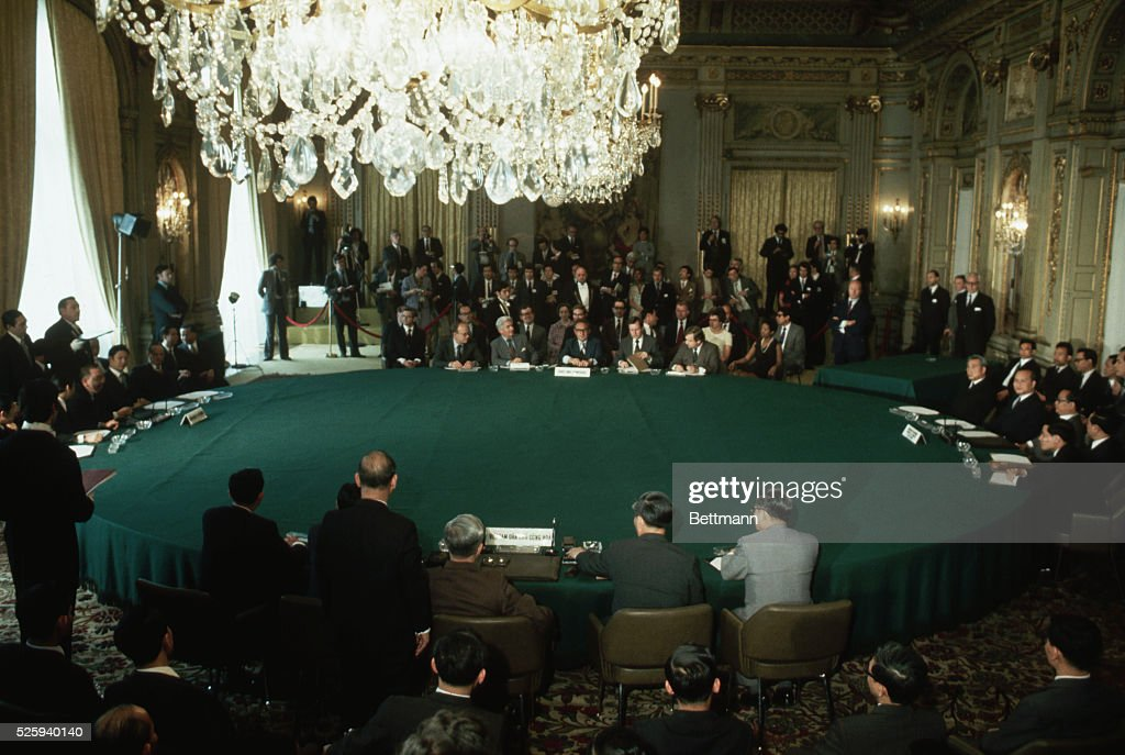 1973 Paris Peace Accords Pictures Getty Images