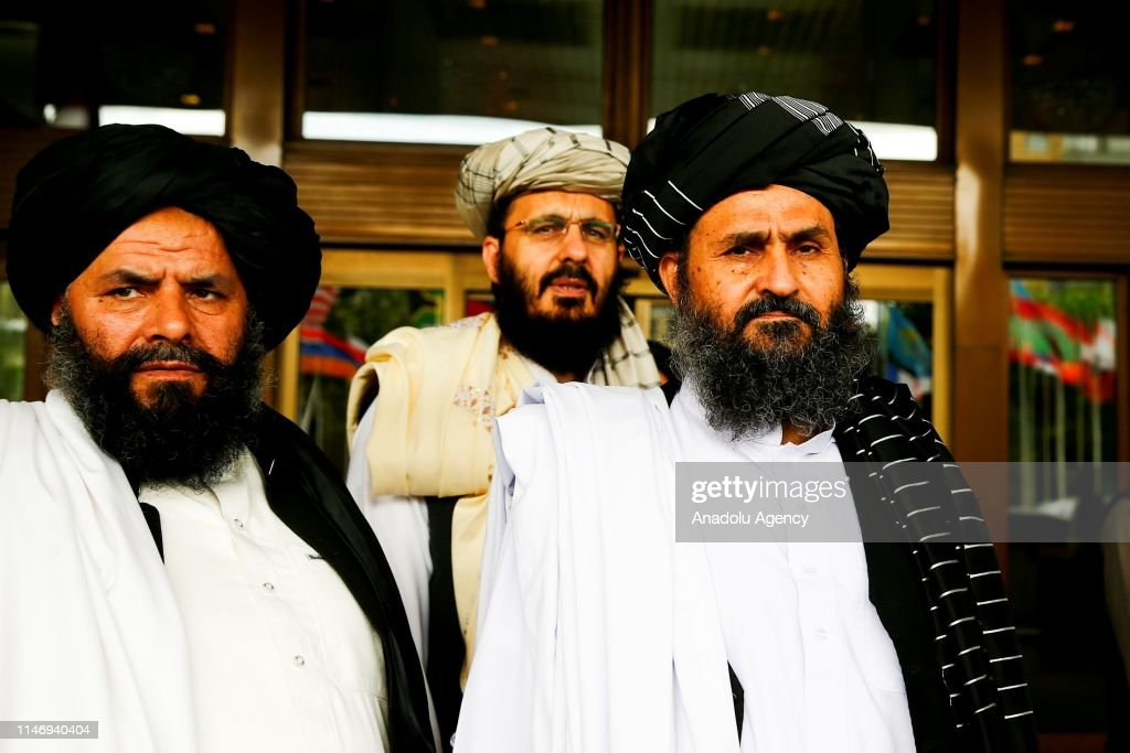 Afghan talks with Taliban in Moscow : News Photo