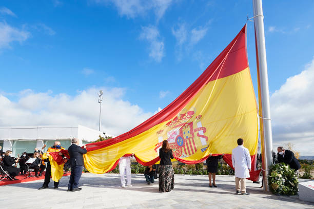 ESP: Tribute To Madrid City In Its Fight Against Covid -19