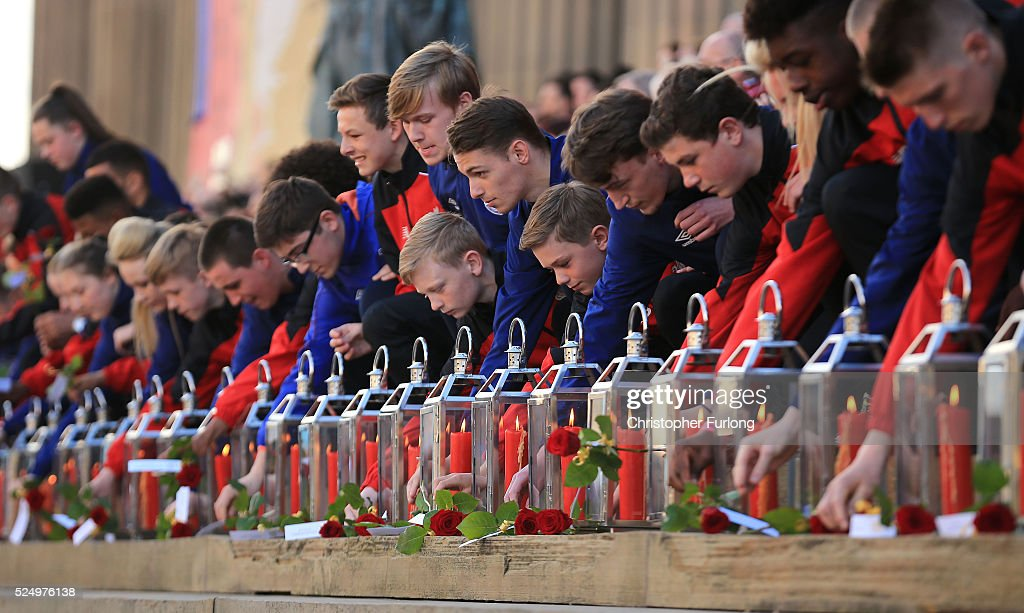 A Vigil Is Held For The 96 Victims Of Hillsborough : News Photo