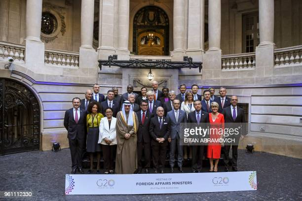 Representatives of the G20 countries Mexican Foreign Secretary Luis Videgaray Caso South African Minister of International Relations and Cooperation...