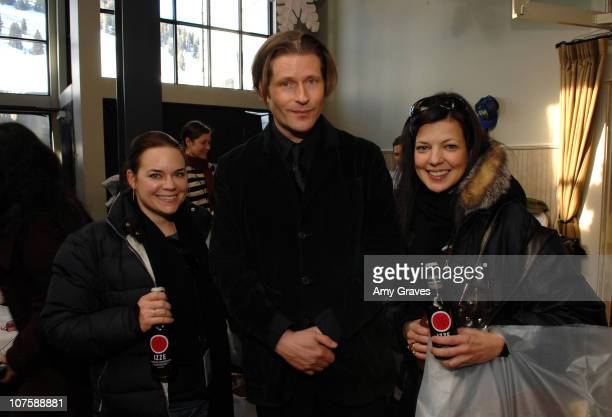 Representatives with Crispin Glover during 2007 Park City - IZZE in Park City at the Sundance Film Festival at Park City in Park City, Utah, United...