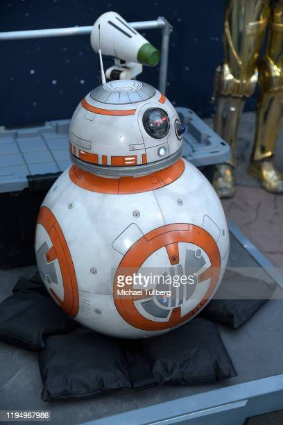 """Repro of droid BB8 at the IMAX opening of """"Star Wars: The Rise Of Skywalker"""" at TCL Chinese Theatre on December 19, 2019 in Hollywood, California."""