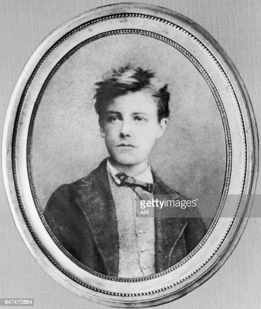 Reproduction d'un portrait d'Arthur Rimbaud poète et écrivain français photographié à l'âge de 17 ans Reproduction d'un portrait d'Arthur Rimbaud...