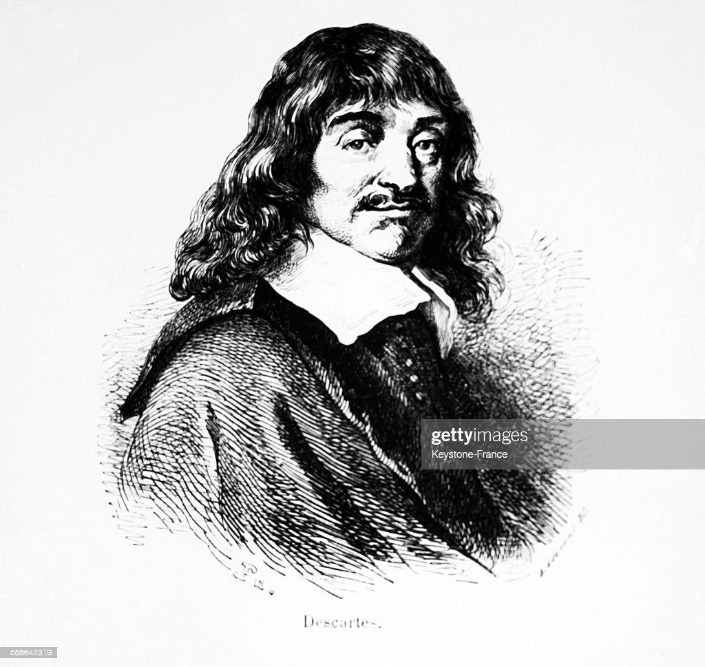 Portrait De Rene Descartes : News Photo