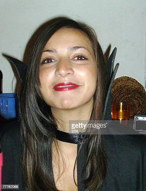 A reproduction made 06 November 2007 of an undated picture shows British exchange student Meredith Kercher in Perugia Italian police brought three...