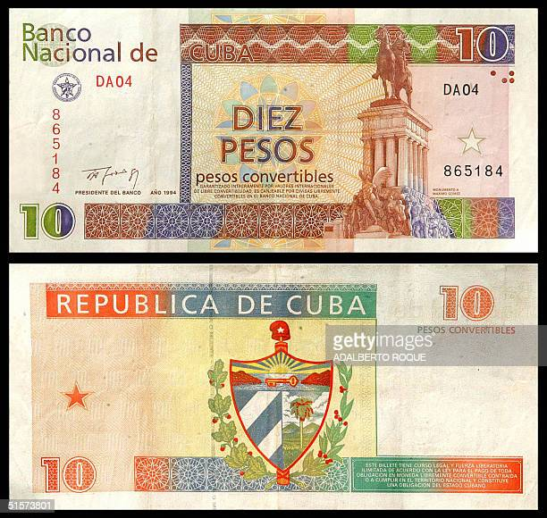 Peso Cuba Stock Pictures Royalty Free