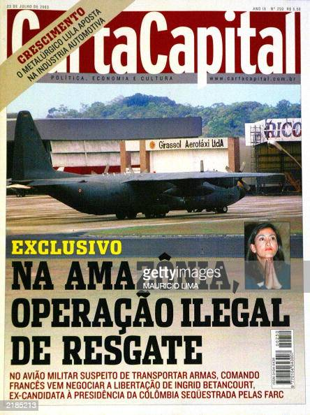 Reproduction Of Brazilian Magazine Carta Capital 23 July 2003 S News Photo Getty Images
