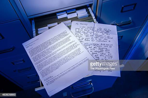 Reproduction writing samples from the UNABOMBER, the DC Sniper, and the Jonbenet Ramsey murder, all cases worked on by forensic linguist Jim...