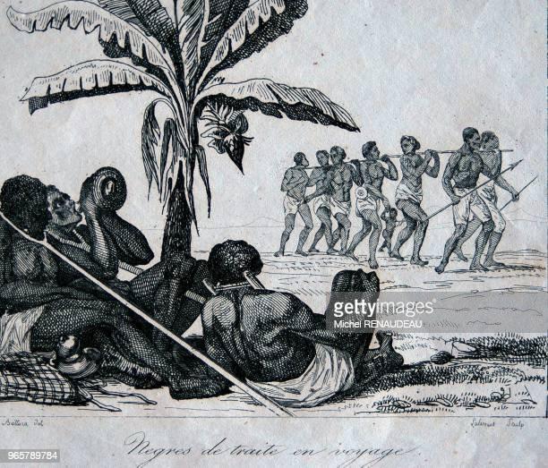 Représentation de l'esclavage une des actvité de l'ile à l'époque de la traite Représentation de l'esclavage une des actvité de l'ile à l'époque de...