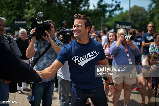 Reps Aaron Schock RIll attends Republican Day at the Illinois State Fair in Springfield Ill August 14 2014